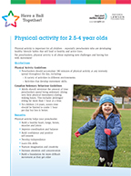 PDF of Tip Sheet for Preschoolers