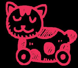pulltoy-cat