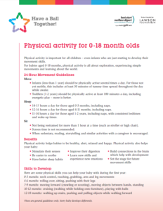 Physical Activity for Infants